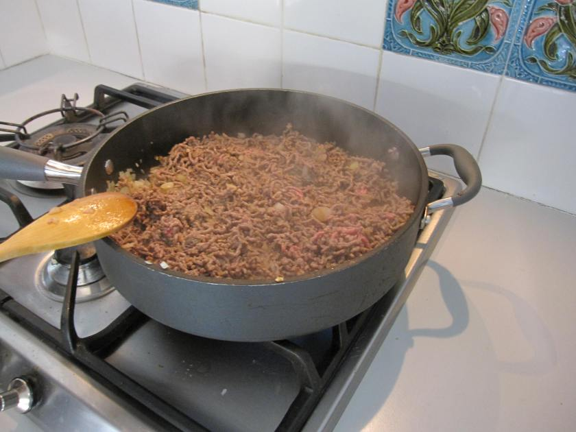 Mince brown