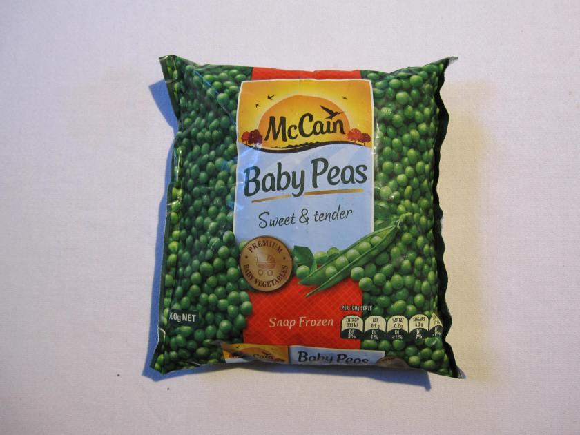 peas packet