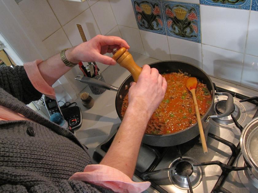 Add pepper